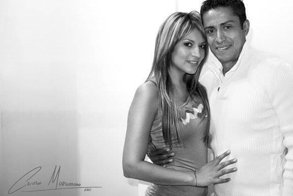 Marisol Padilla y Edgar Valencia