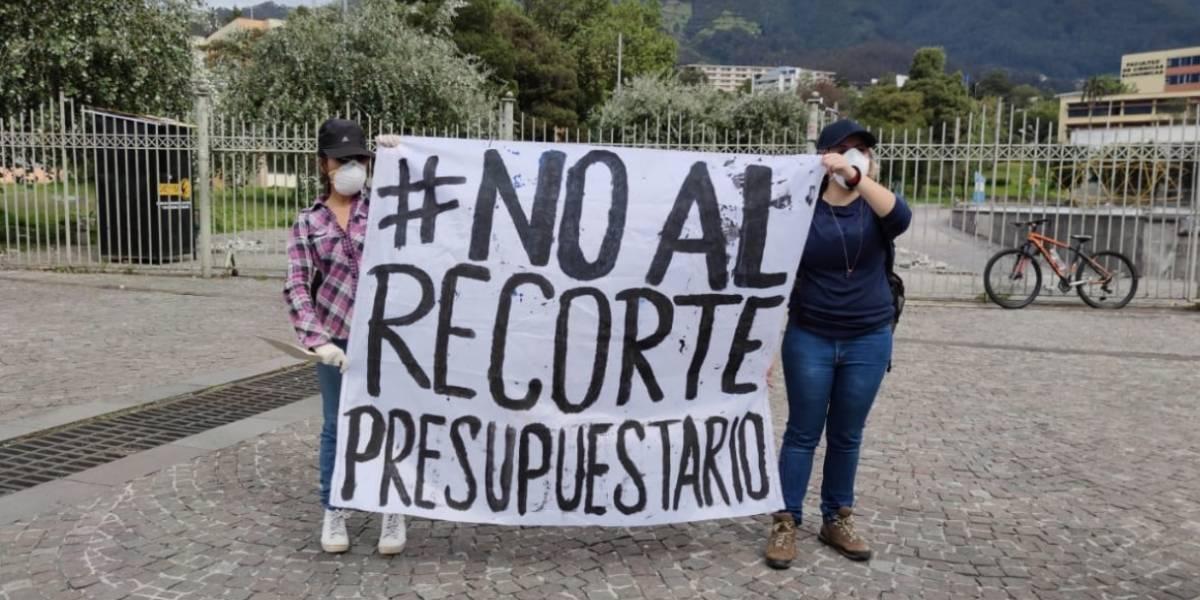 Se suspende el proceso de matrículas en la Universidad Central del Ecuador