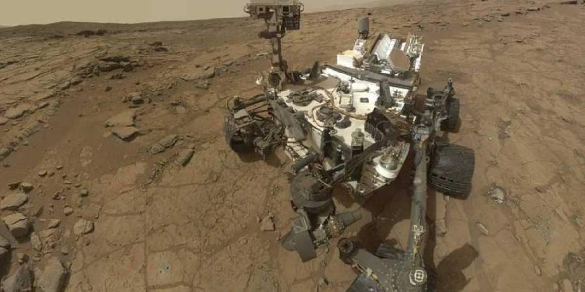 El rover Curiosity de Marte halló evidencia de catastróficas inundaciones prehistóricas en el planeta rojo