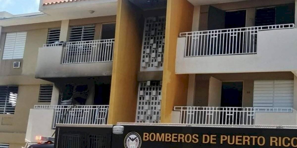 Reportan incendio en el residencial López Nussa en Ponce
