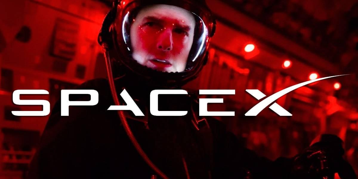 Tom Cruise quiere filmar una película en el espacio con SpaceX de Elon Musk