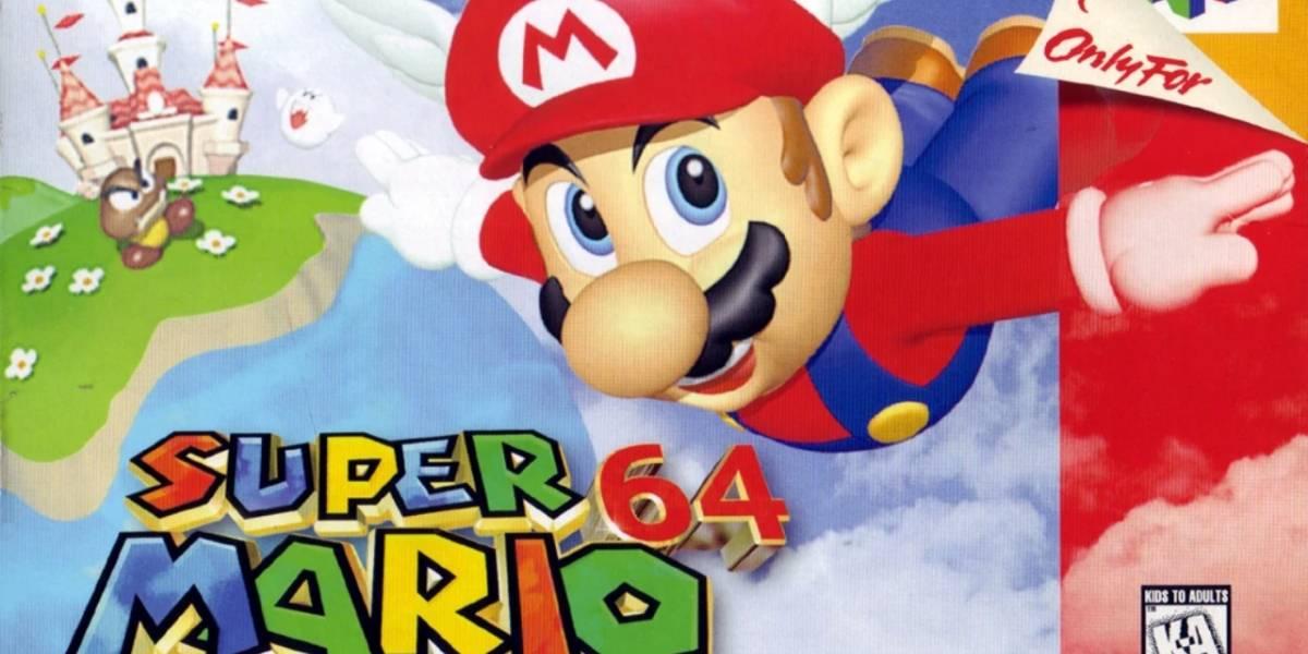 Nintendo: Super Mario 64 llega a PC completamente en 4K