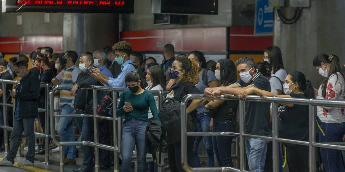 São Paulo tem aumento de 615 mil passageiros no Metrô, CPTM e EMTU