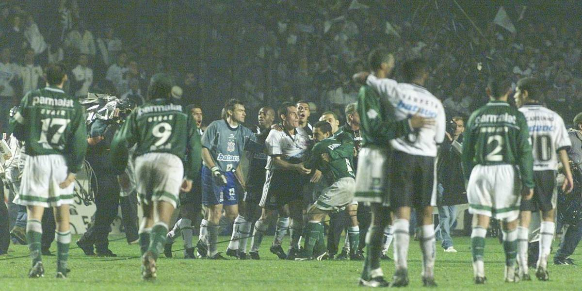Band exibe final do Paulistão de 1999 entre Palmeiras e Corinthians