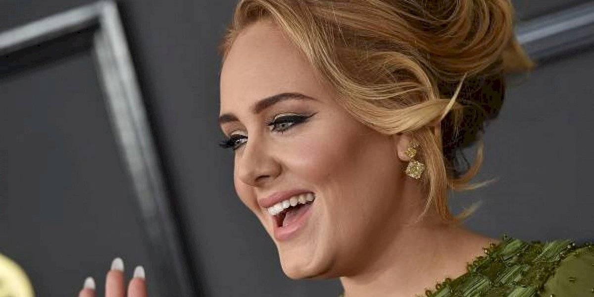 Adele se puso el vestido cuando estaba subida de peso