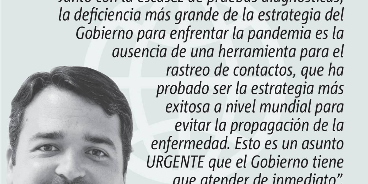 Opinión de Alejandro Figueroa: Rastreo: herramienta esencial para reapertura