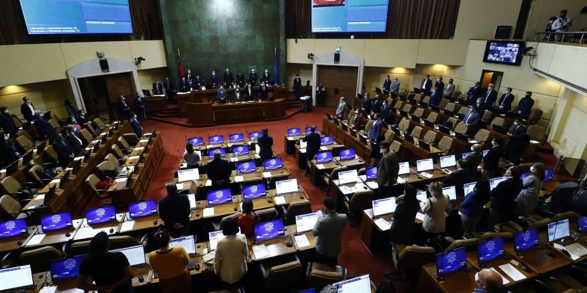 La Cámara de Diputados suspende sesión de este jueves por caso positivo de covid-19 de hija de un funcionario