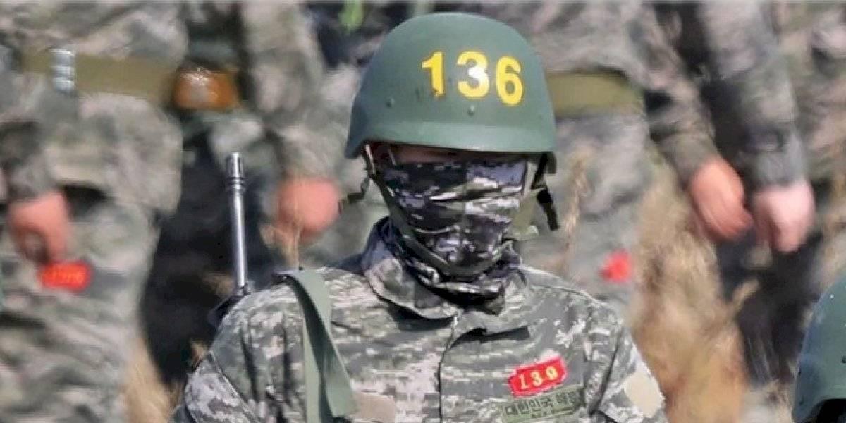 El soldado Son cumple con su servicio militar antes de volver al régimen de Mourinho