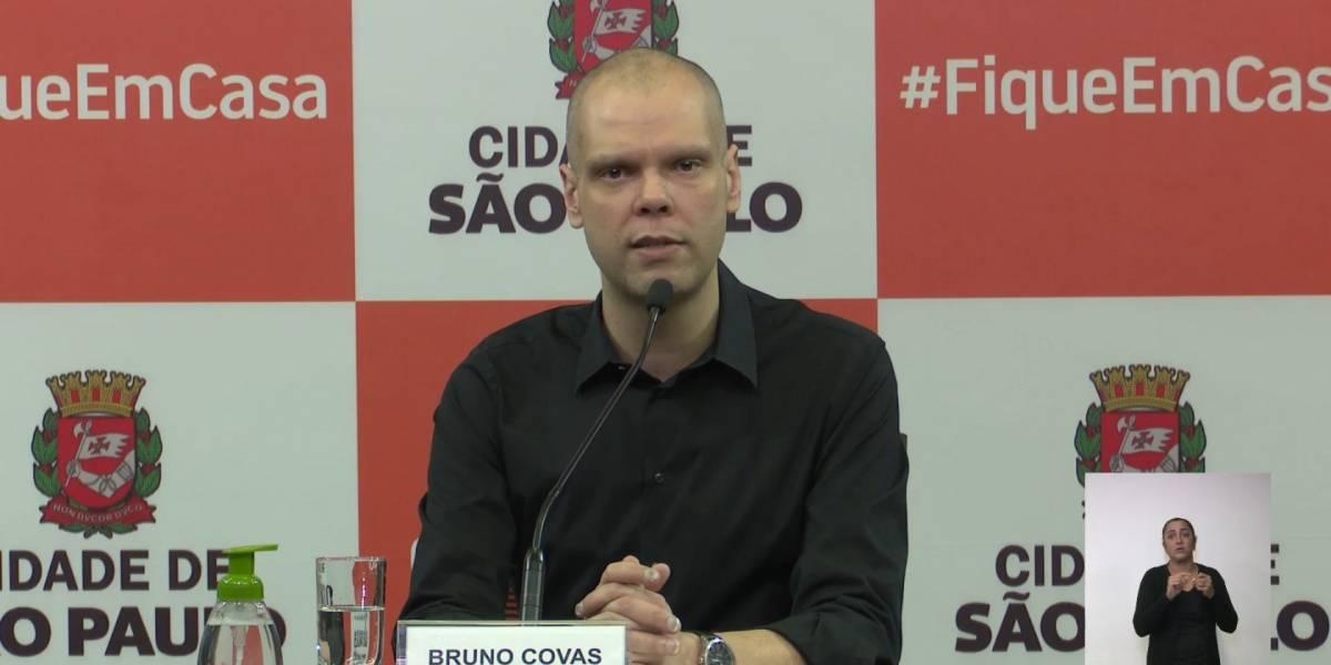 Bruno Covas é internado após sentir desconforto abdominal