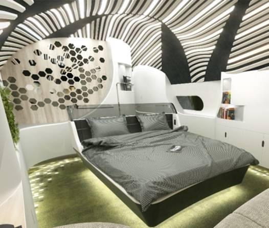 Dormitorio Airbus