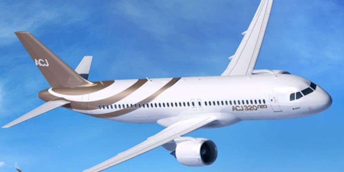 Los tres aviones privados más lujosos e impresionantes del planeta