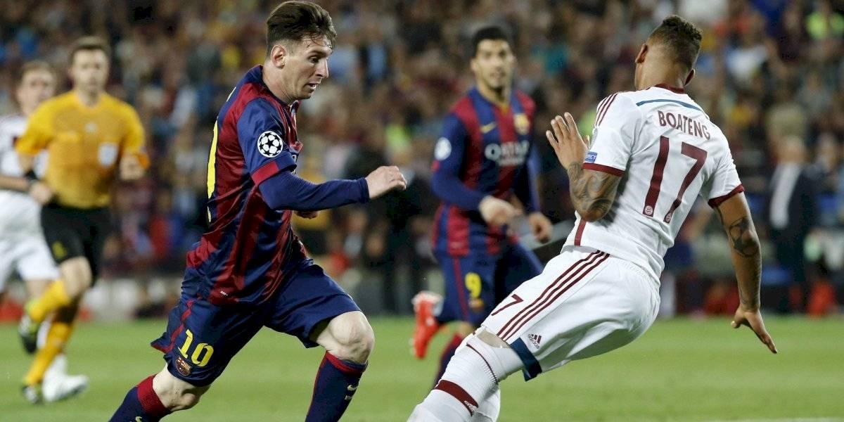 """El """"palito"""" de Boateng a Messi en el aniversario del recordado regate: """"Conseguiré palomitas de maíz y miraré la final de la Copa del Mundo 2014"""""""