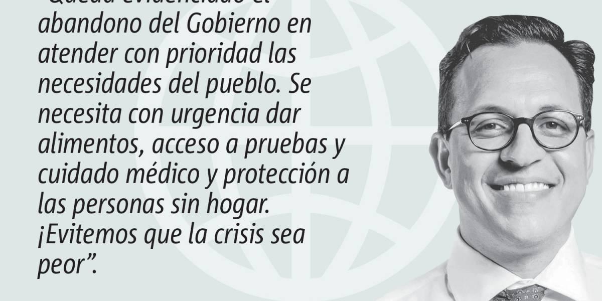 Opinión de Gabriel López Arrieta: Gobierno da la espalda a las personas sin hogar