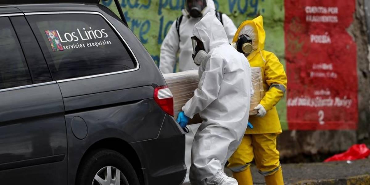 Testimonio de los hijos del hombre que falleció en una calle de Quito por COVID-19