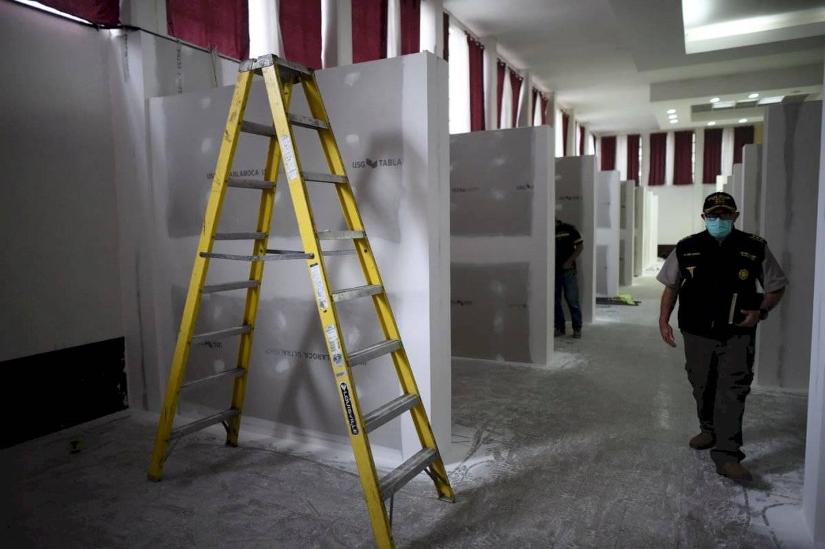 Hospital Temporal de la PNC Edwin Bercián