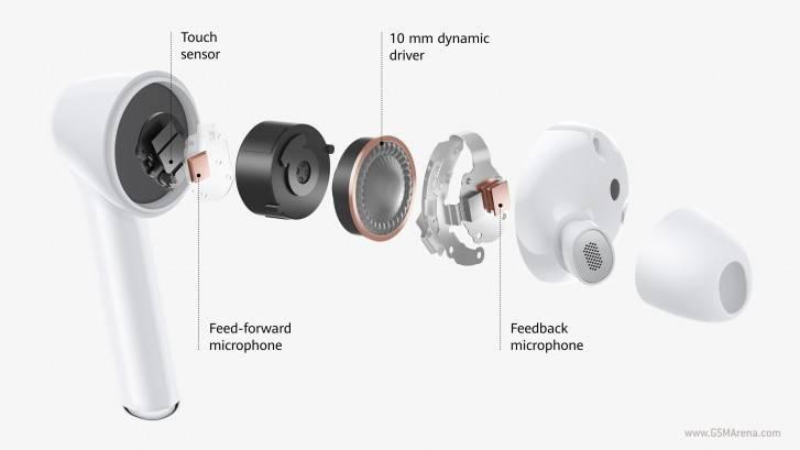 Huawei anuncia los Freebuds 3i, audífonos con cancelación de ruido ultra baratos