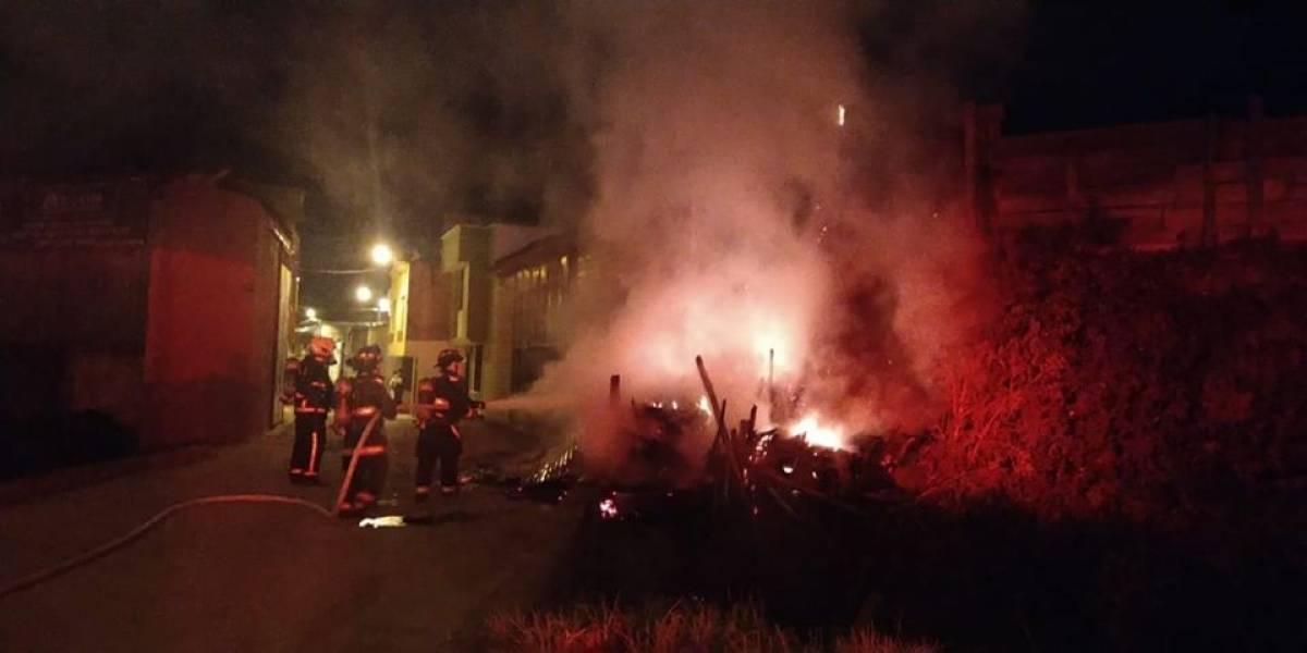 Incendiaron casa con un abuelito adentro