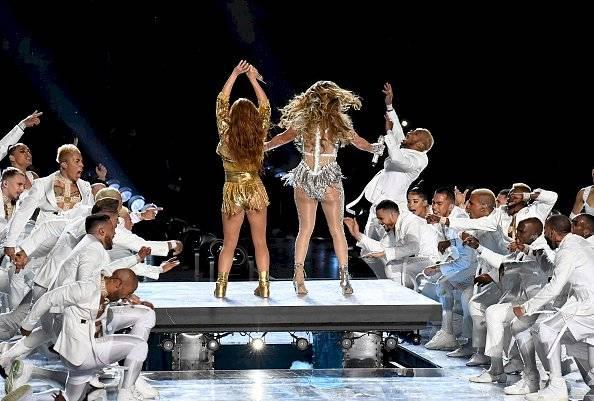 JLo y Shakira en el Super Bowl