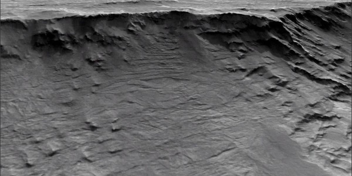 Nuevas imágenes de Marte revelan que sus ríos existieron hace 3.700 millones de años