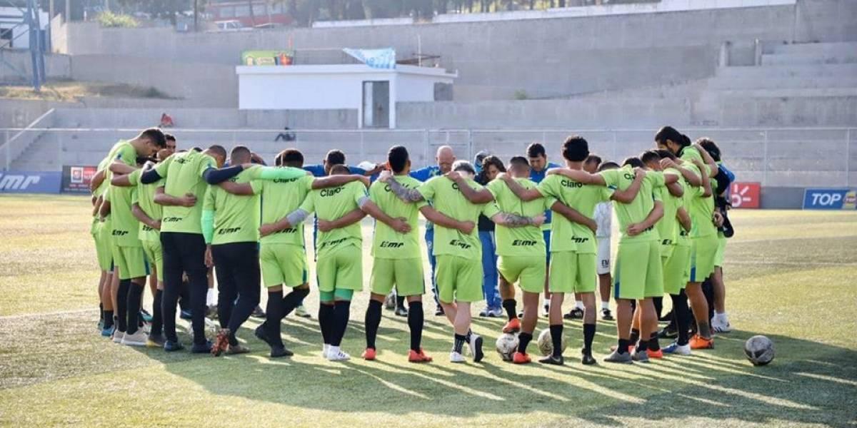 Deportivo Mixco presenta el protocolo que tendría si se reinicia el Clausura 2020