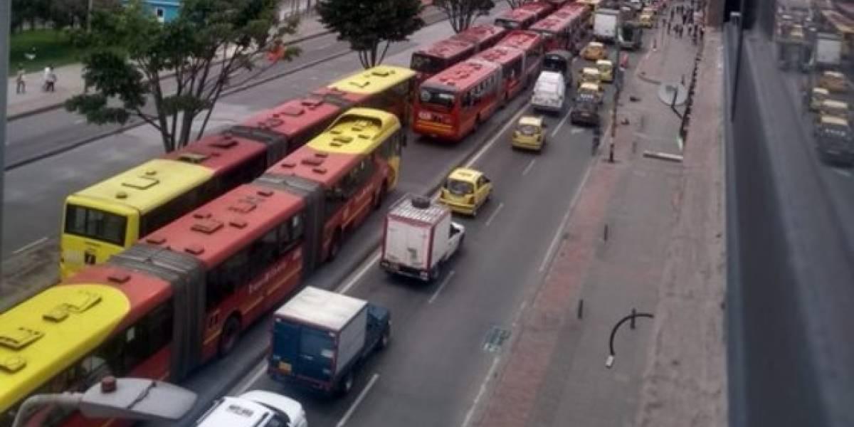 Suspenden operación en varias estaciones y portales de TM por manifestaciones