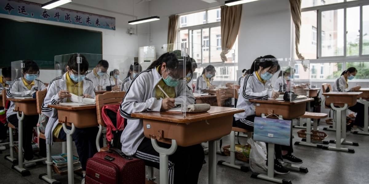 FOTOS. Así es el regreso a clases en Wuhan, ciudad epicentro de la pandemia de coronavirus