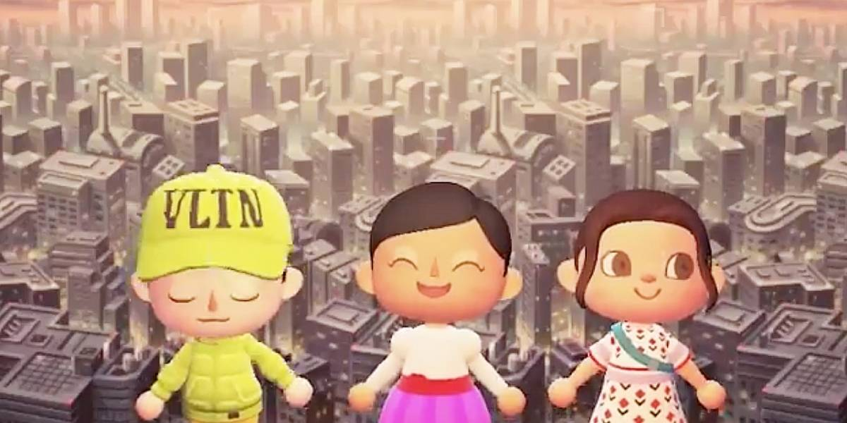 Animal Crossing New Horizons recibe ropa de Marc Jacobs y Valentino