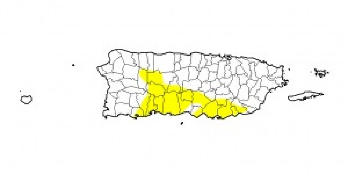 Monitor de Sequía reporta ligero aumento en sequía anómala