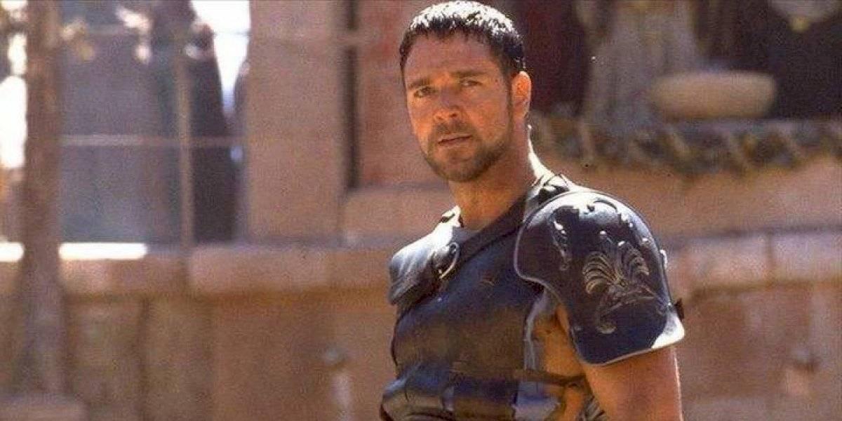 """A 20 años de su estreno, los secretos del rodaje de """"Gladiador"""": Russell Crowe casi mutilado por un tigre y un guión sin final"""