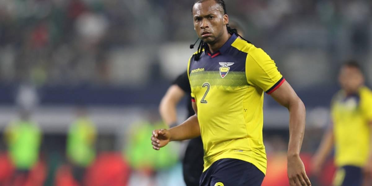 """Arturo Mina """"no tiene deseos"""" de estar en la Selección Ecuatoriana"""
