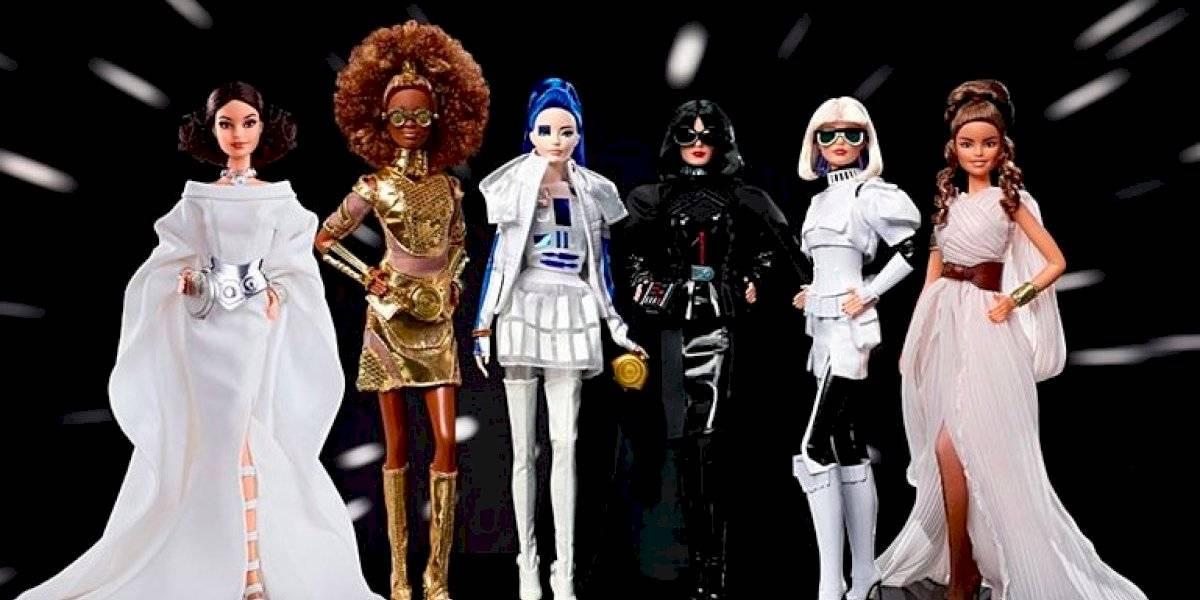 Barbie presenta sus nuevas muñecas inspiradas en Star Wars