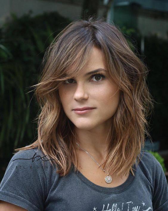 cortes de cabello para mujer cara redonda