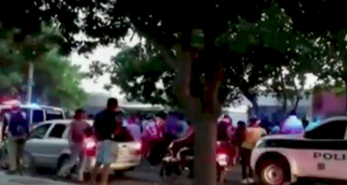Por un chisme, habitantes de una ciudad colombiana rompieron la cuarentena