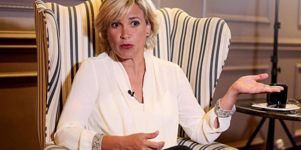 Cynthia Viteri dice que un tercio de guayaquileños están contagiados