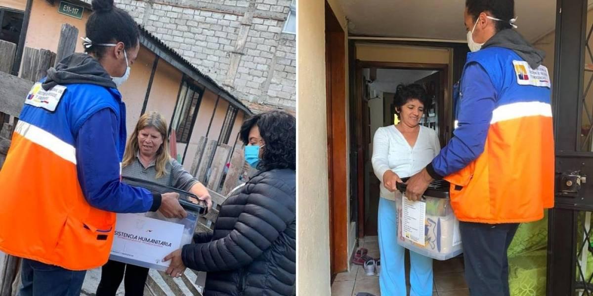Alexandra Ocles rechaza que Riesgos haya comprado kits de alimentos con sobreprecio