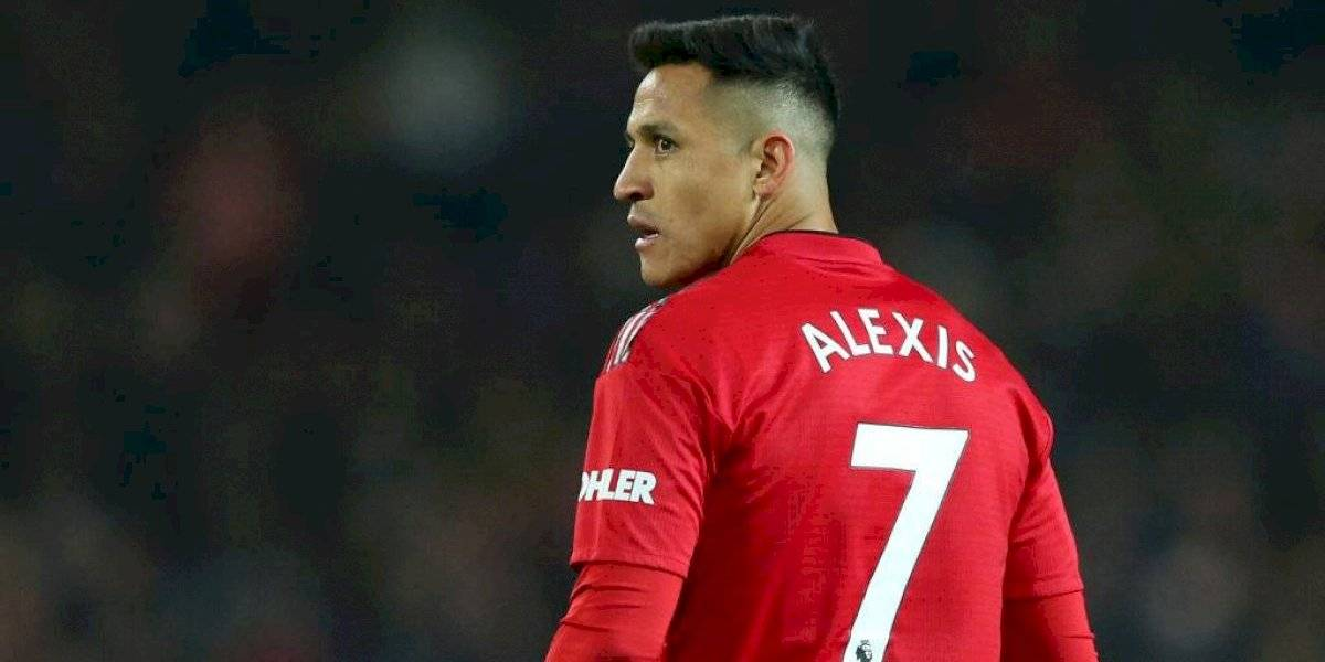 Alexis Sánchez podría jugar para el Manchester United si se reinicia la Premier League