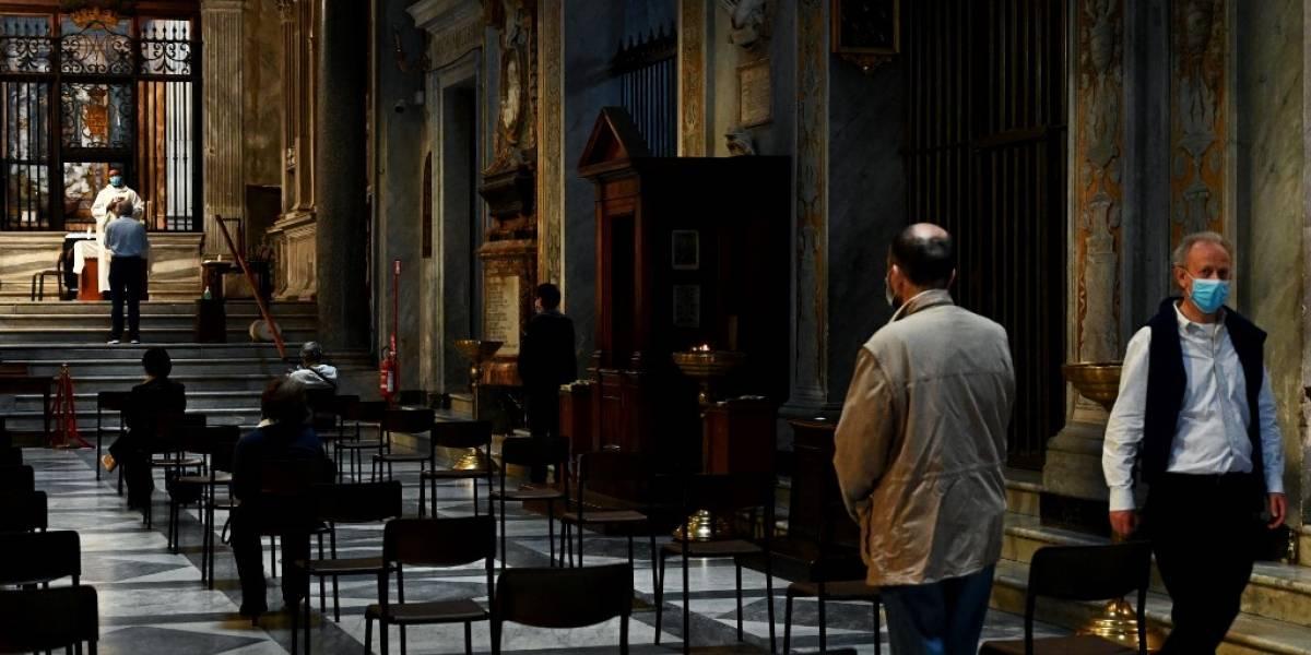 En medio de la pandemia, Italia autoriza las misas a partir del 18 de mayo