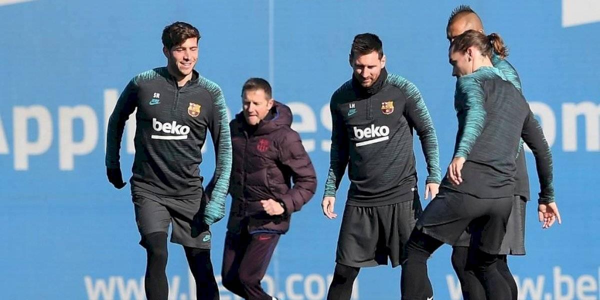 Jugadores del FC Barcelona regresarán a los entrenamientos este viernes