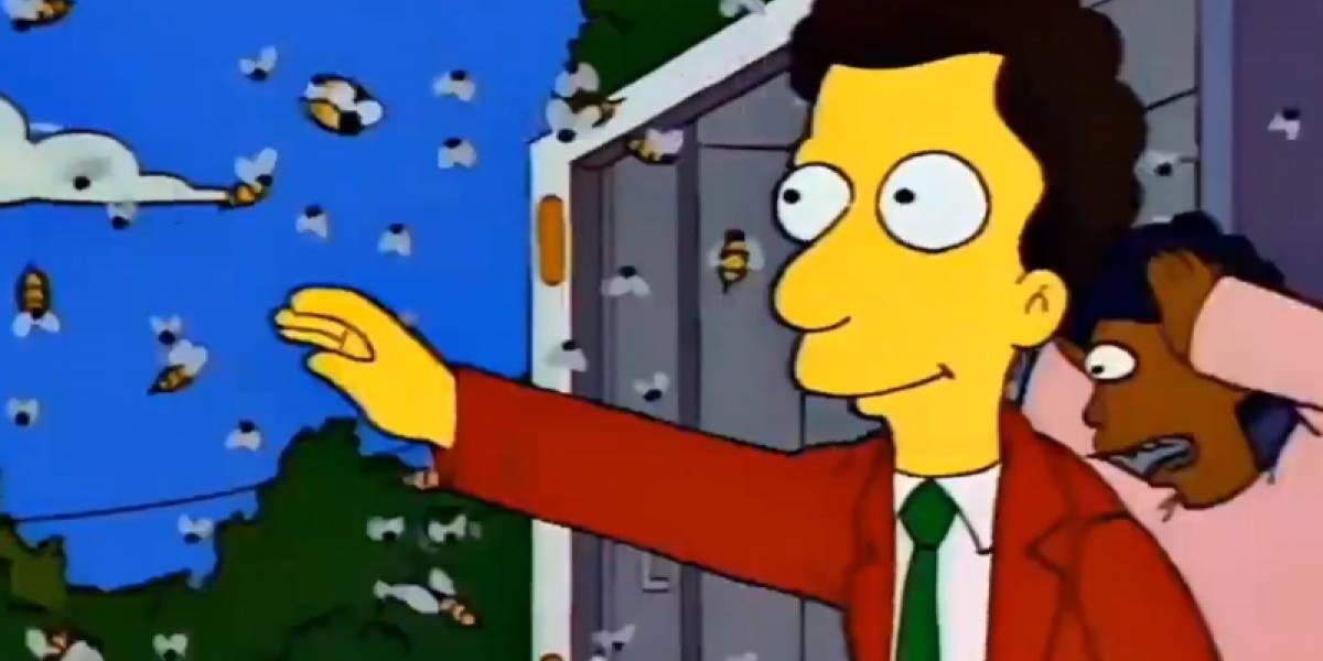 Los Simpson predijeron las avispas asesinas y el coronavirus