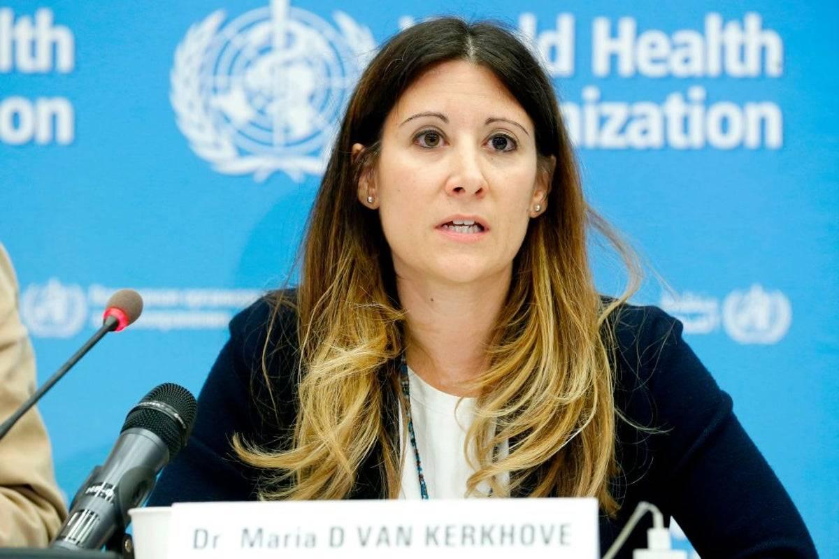 María Van Kerkhove Epidemióloga de la OMS