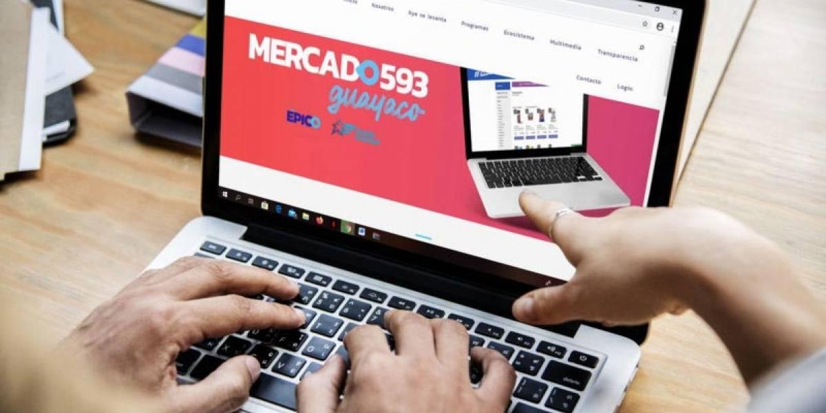 Educan sobre el uso de la plataforma Mercado 593 Guayaco