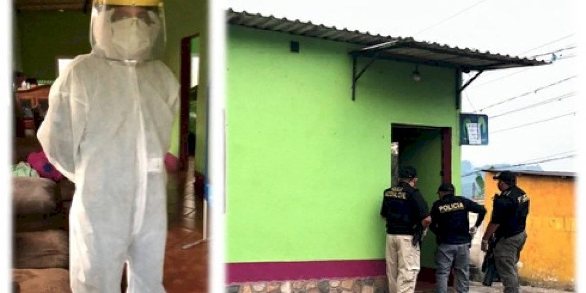 Utilizando equipo de protección, MP realiza operativo contra trata de personas