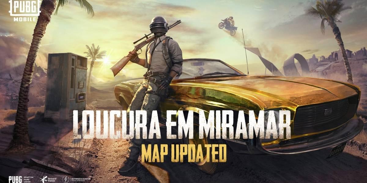 PUBG MOBILE ganha mapa Miramar atualizado no update 0.18.0