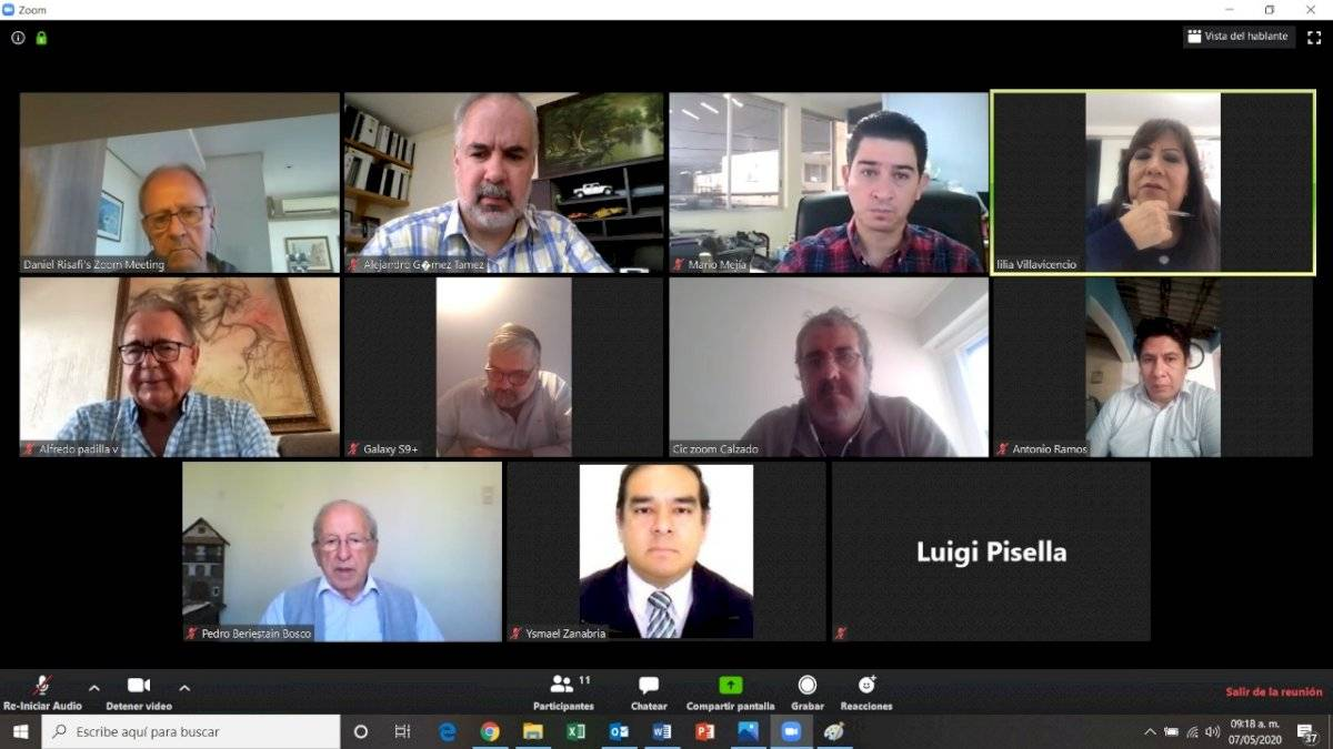 Reunión sector calzado Latinoamérica