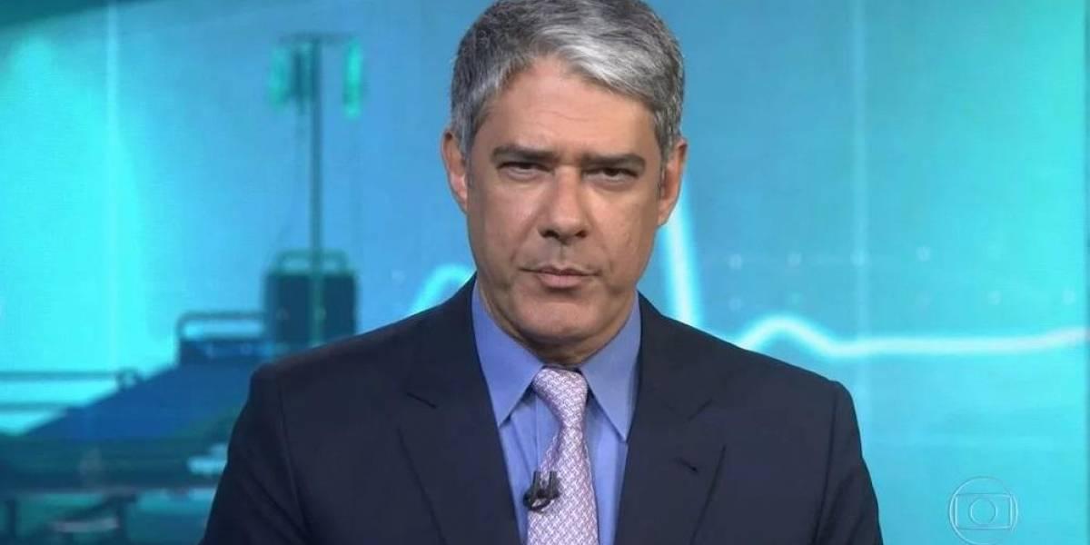 Internautas se emocionam com nova fala de William Bonner e dizem ser indireta para Bolsonaro