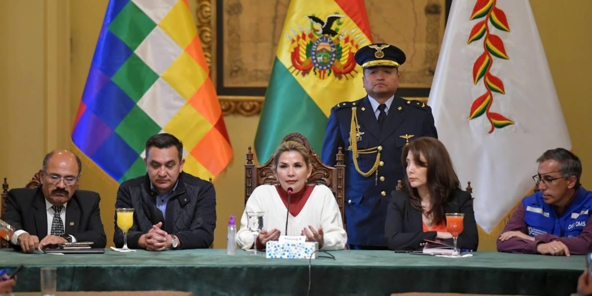 Bolivia.- Juran el cargo los nuevos ministros de Desarrollo y Minería del Gobierno de Áñez en Bolivia