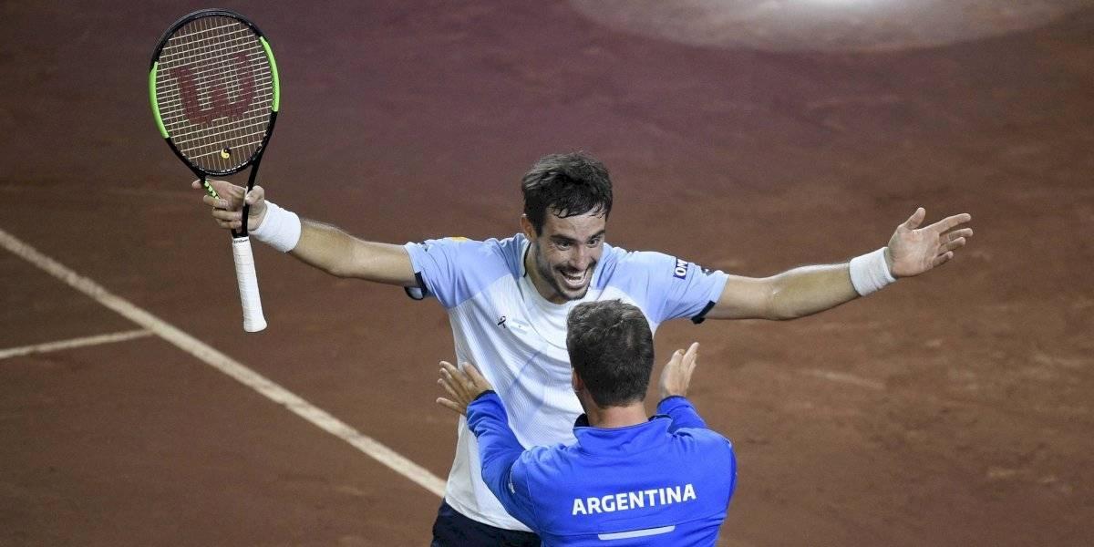 """Argentino discute apoyo solidario a tenistas usando a Garin como ejemplo: """"Pasó del 60 al 18 hace nada, me parece muy arbitrario que pague tanto"""""""