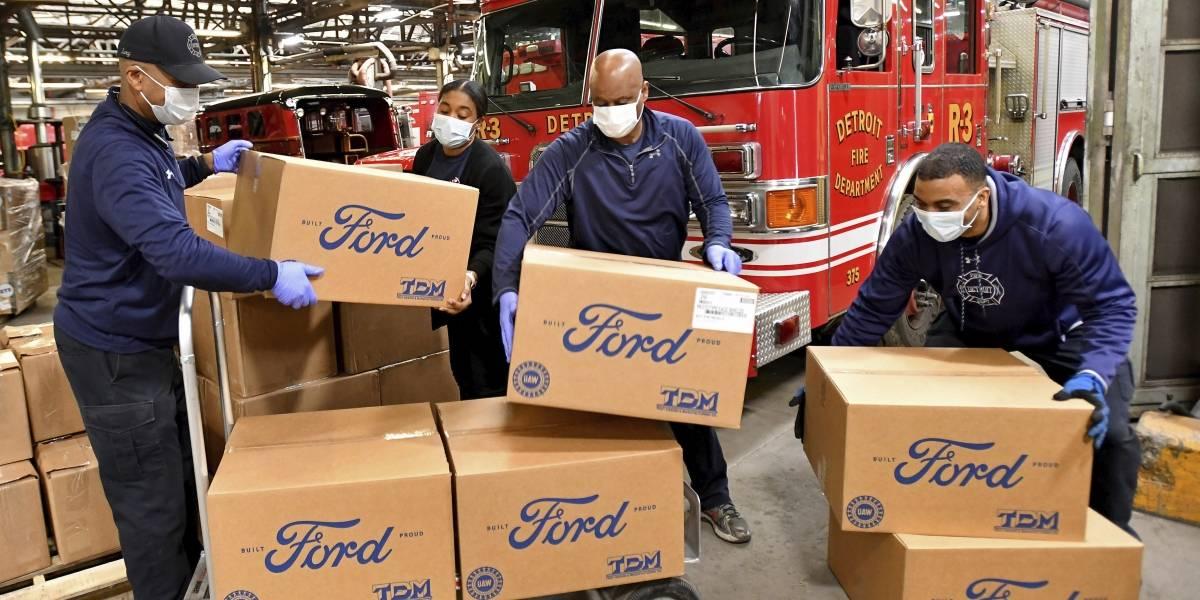 Ford y 3M continúan produciendo respiradores con purificación de aire