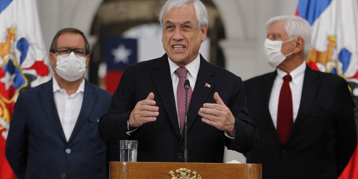"""Para Piñera, Mañalich la está rompiendo: """"Hace una gran labor, cuenta con mi apoyo y confianza"""""""