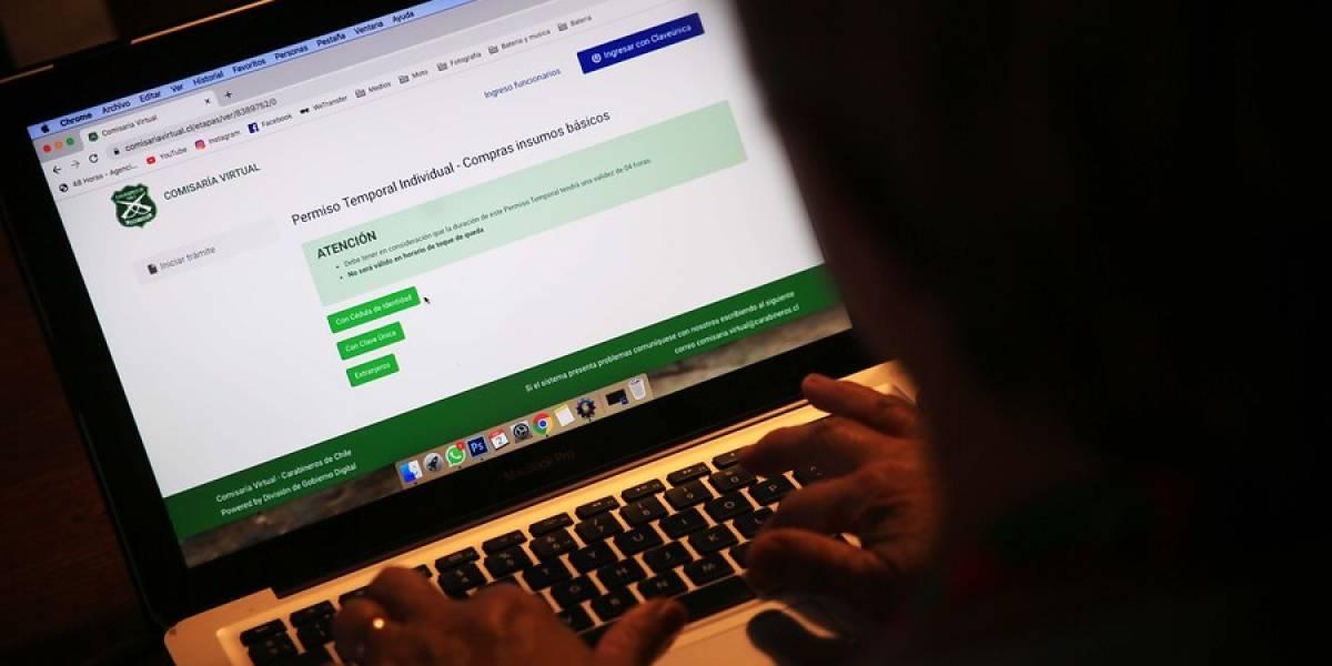 Atención usuarios: Carabineros informa que sitio web de la Comisaría Virtual está en mantención